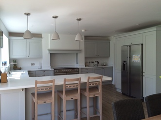 Light Grey Shaker Kitchen & Just Fitted Kitchens - Light Grey Shaker Kitchen azcodes.com