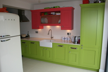 Painted Kitchen in Epping, Essex