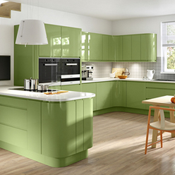 Handle-Free kitchens in Any Colour